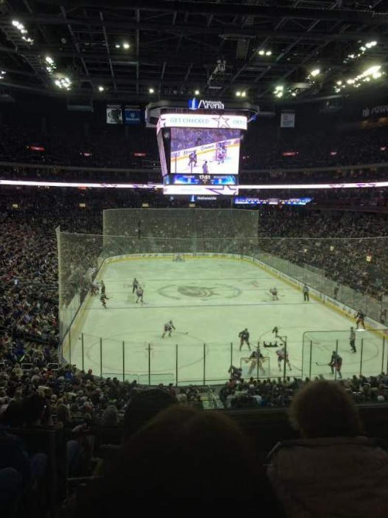 Nationwide Arena, section 121, row KK, seat 2 - Columbus Blue ...