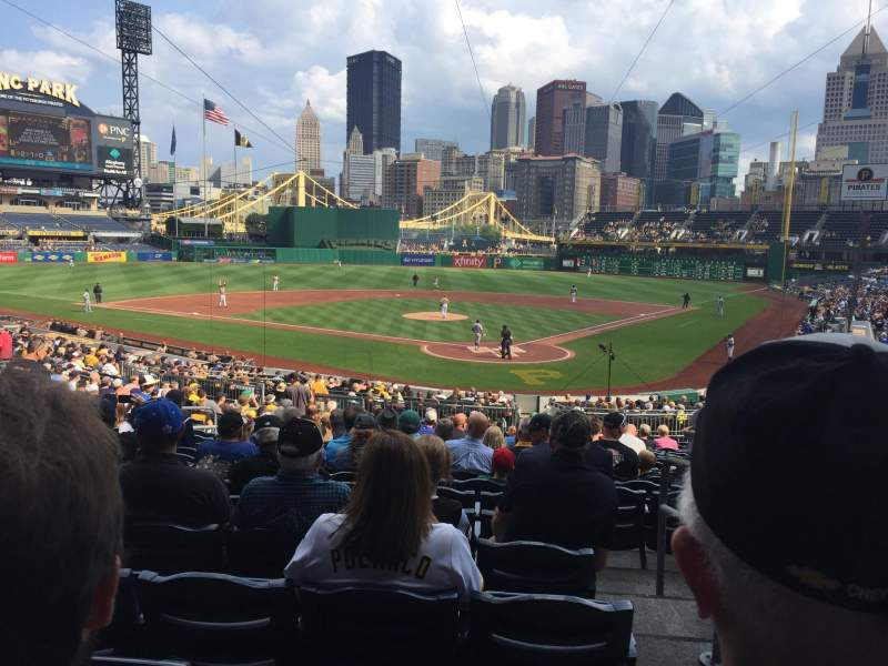 PNC Park, section: 117, row: V, seat: 18