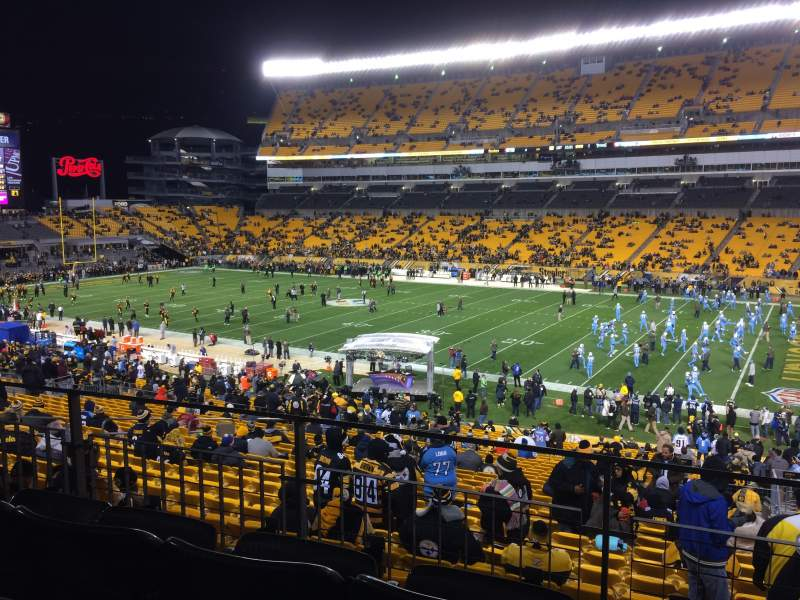 Seating view for Heinz Field Section 214 Row C Seat 2