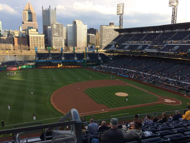 Seating view for PNC Park Section 225 Row J Seat 17