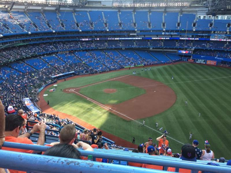 Rogers Centre, section: 514R, row: 14, seat: 6