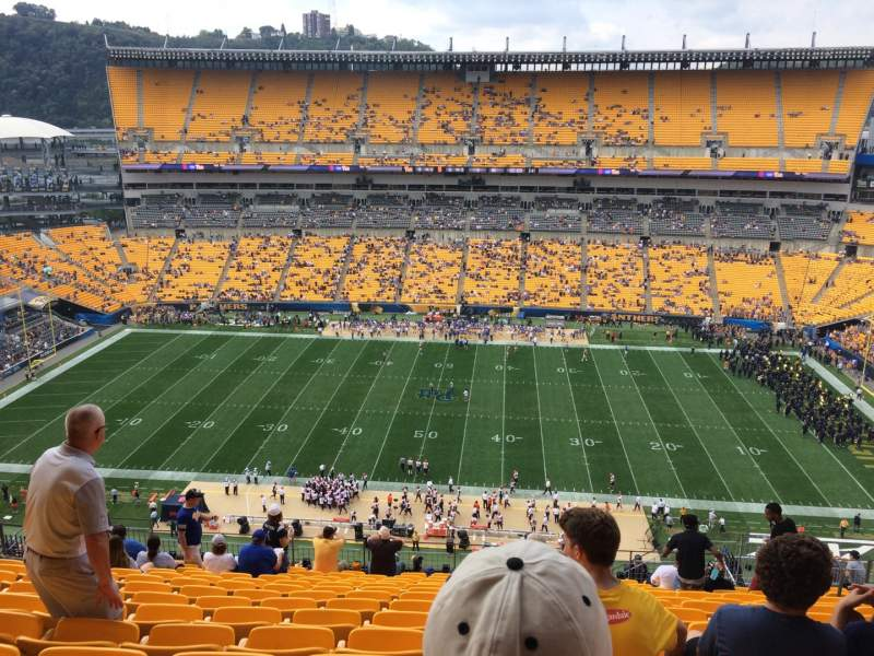 Seating view for Heinz Field Section 511 Row T Seat 9