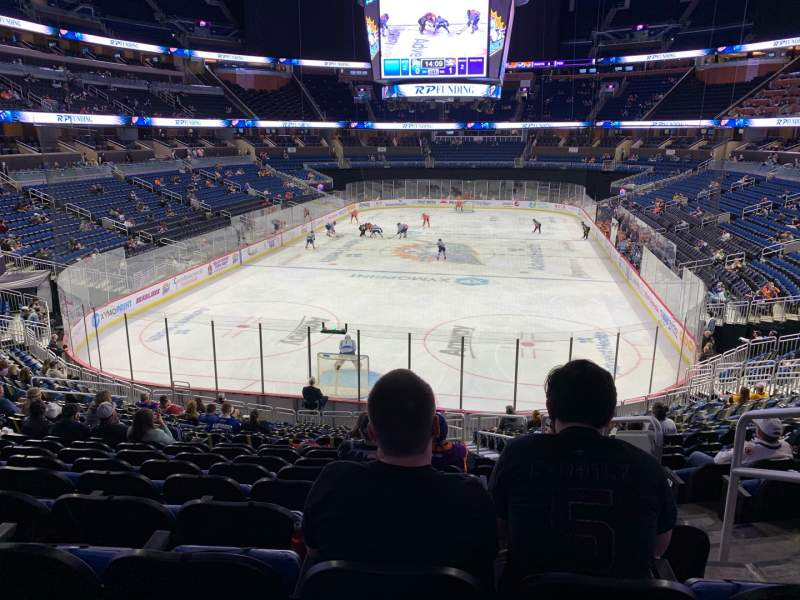 Seating view for Amway Center Section 101 Row 24 Seat 3
