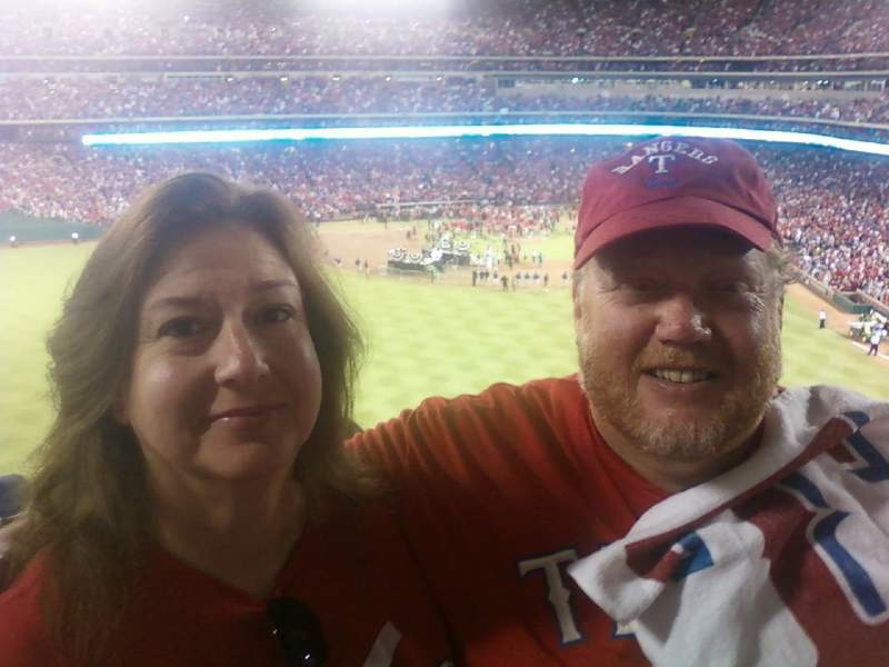 Seating view for Globe Life Park in Arlington Section 201 Row 11 Seat 3