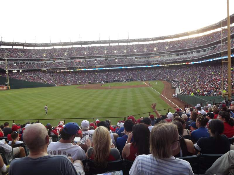 Seating view for Globe Life Park in Arlington Section 8 Row 11 Seat 2