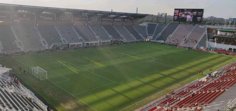Seating view for Audi Field Section 112 Row 35 Seat 16