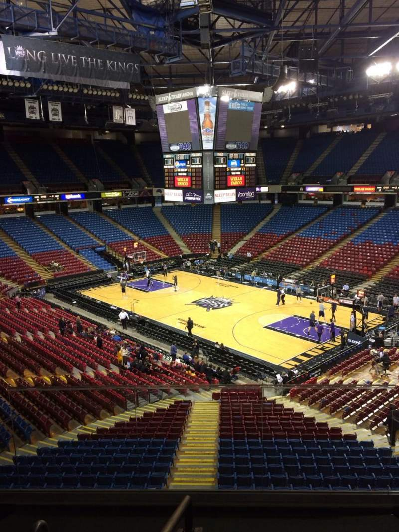 Seating view for Sleep Train Arena Section 224 Row B Seat 28