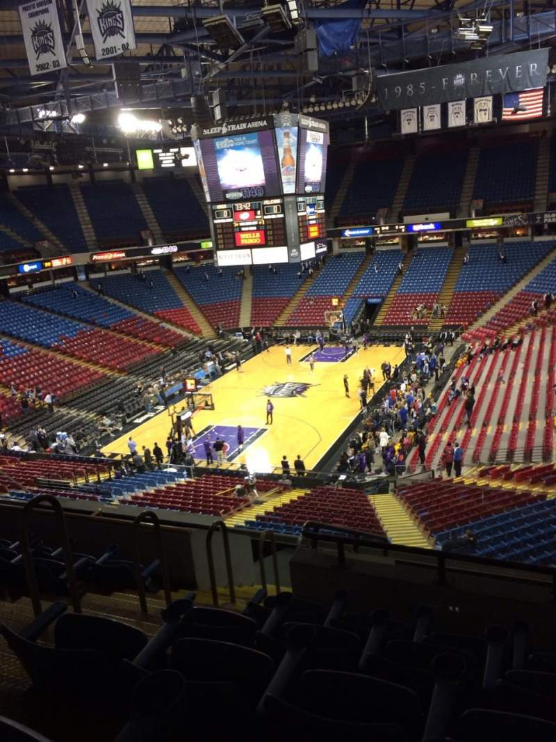 Seating view for Sleep Train Arena Section 207 Row G Seat 11