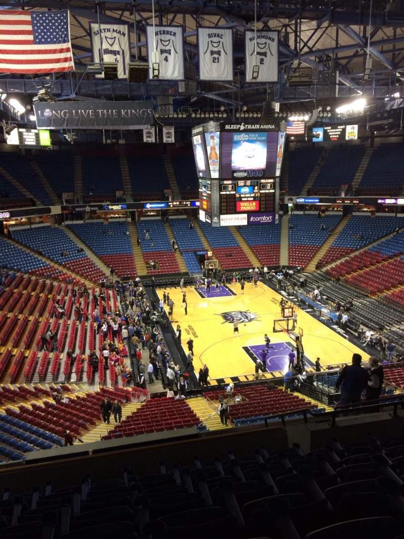 Seating view for Sleep train Arena Section 222 Row K Seat 9