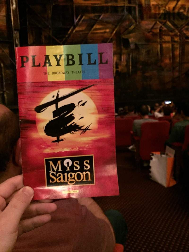 Seating view for Broadway Theatre - 53rd Street Section Orchestra L Row K Seat 2