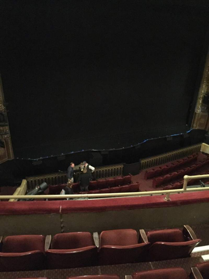 Seating view for Palace Theatre (Broadway) Section Mezz Row C Seat 7