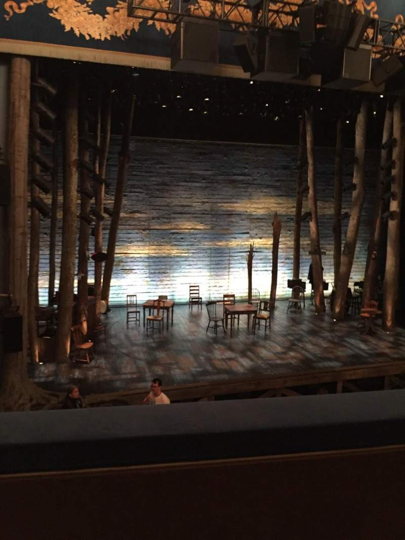 Seating view for Gerald Schoenfeld Theatre Section Mezz Row B Seat 3