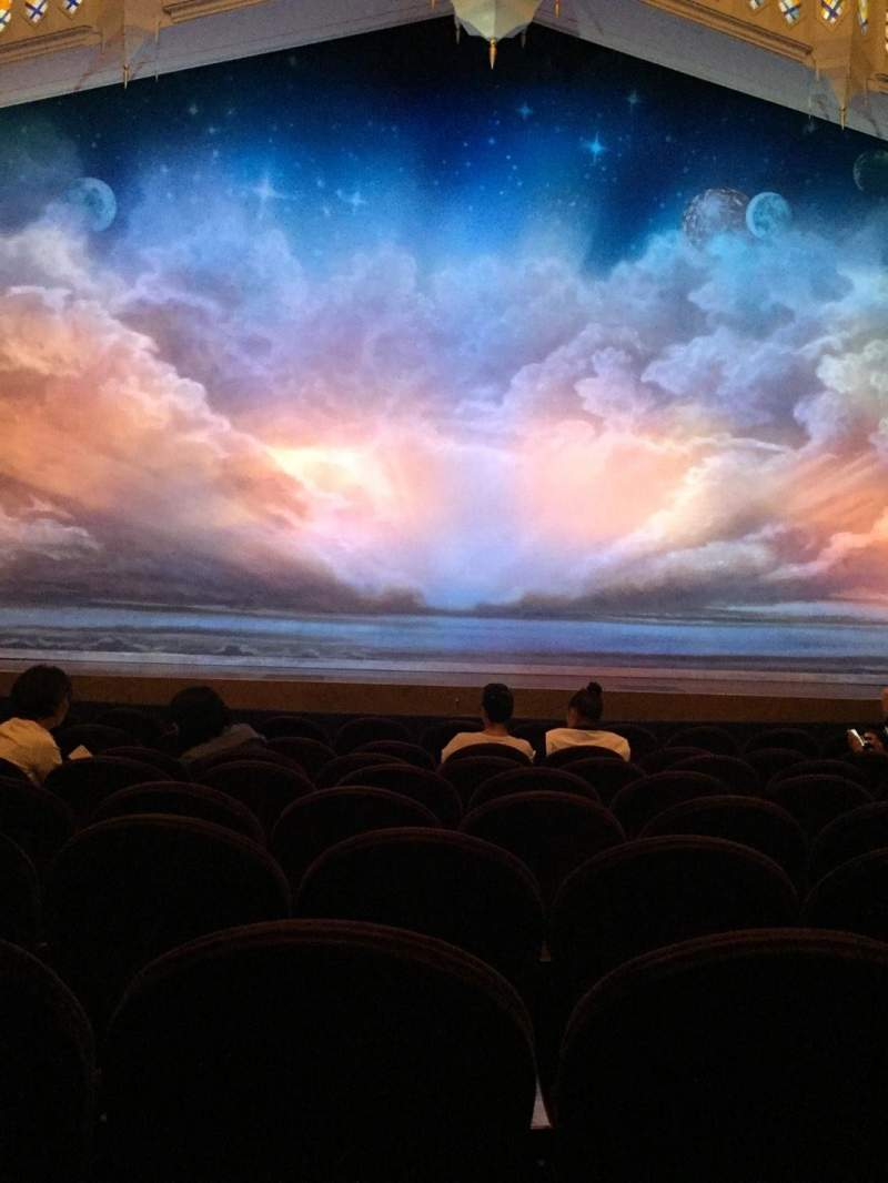 Seating view for Eugene O'Neill Theatre Section Orch Row J Seat 109