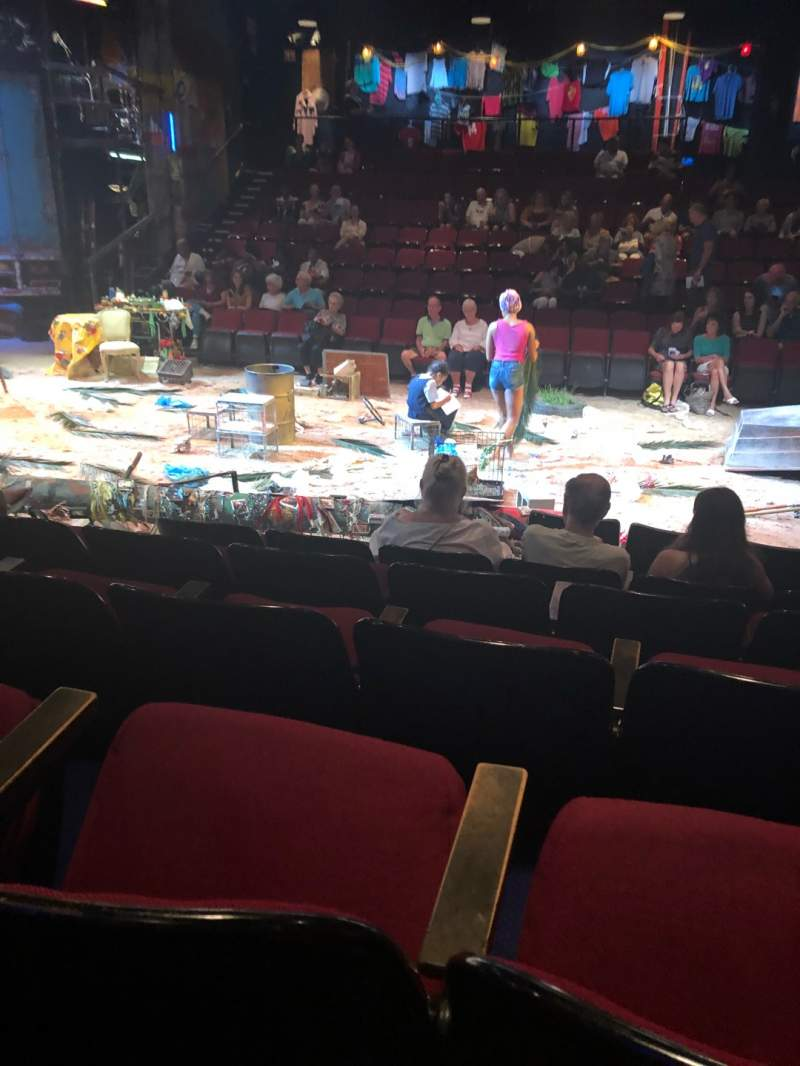 Seating view for Circle in the Square Theatre Section Orch Row E Seat 29