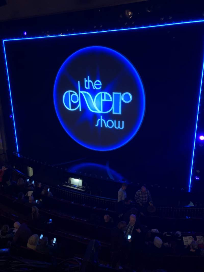 Seating view for Neil Simon Theatre Section Front Mezzanine C Row A Seat 126