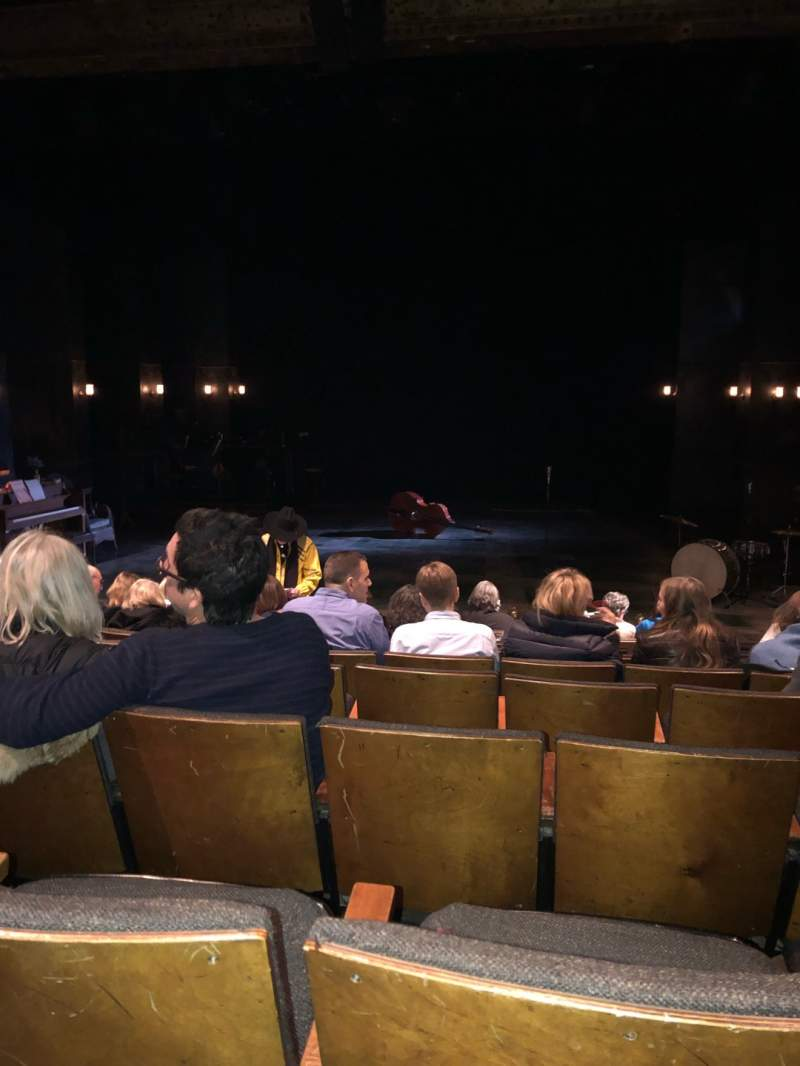 Seating view for The Anspacher Theater at the Public Theater Section Orch Row J Seat 7