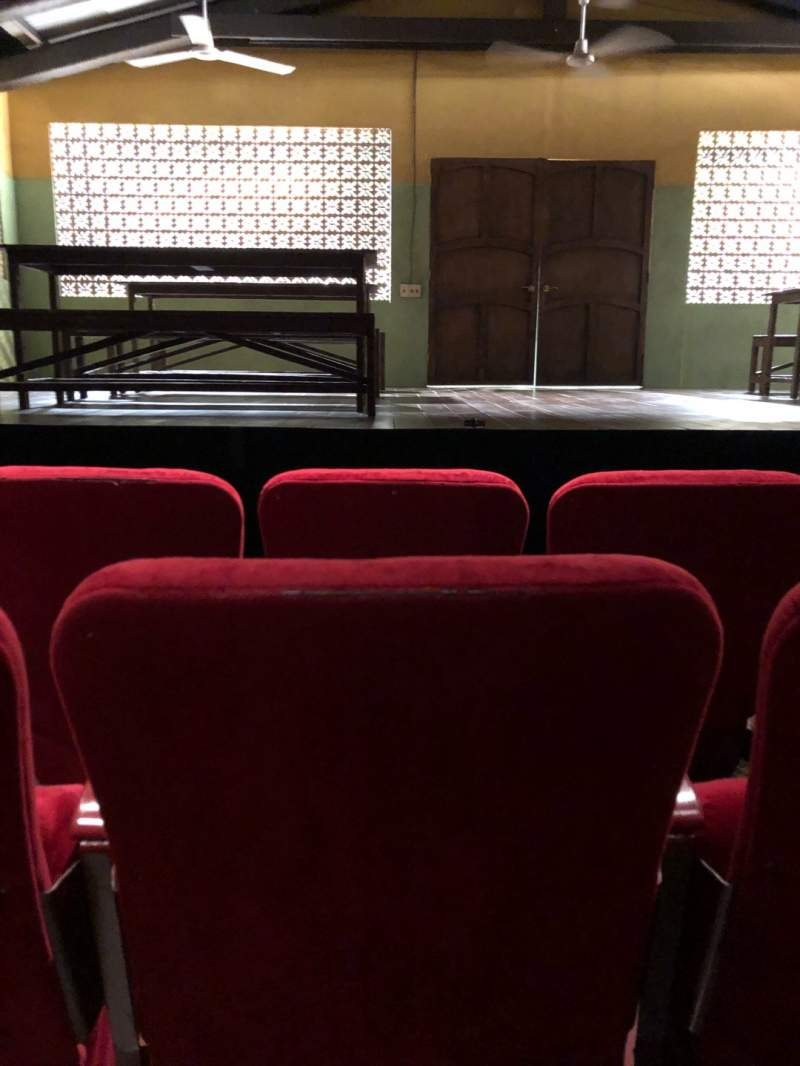 Seating view for Lucille Lortel Theatre Section Orch Row C Seat 108