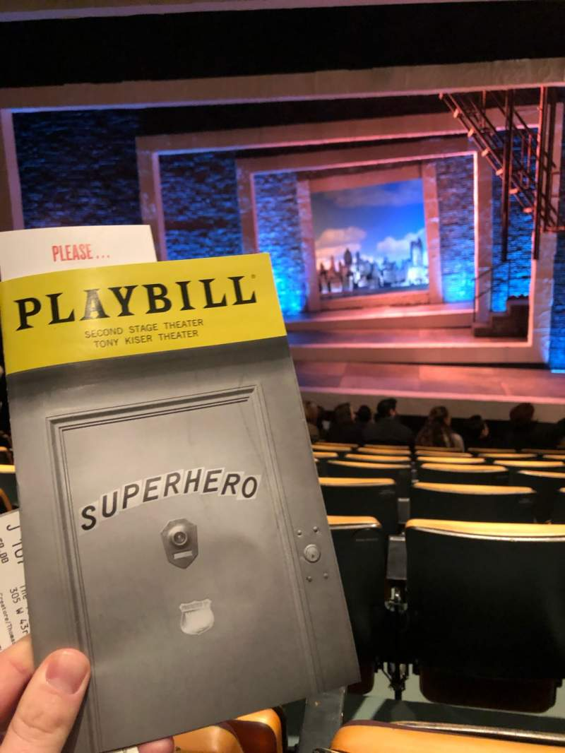 Seating view for Tony Kiser Theatre Section Orch Row J Seat 107