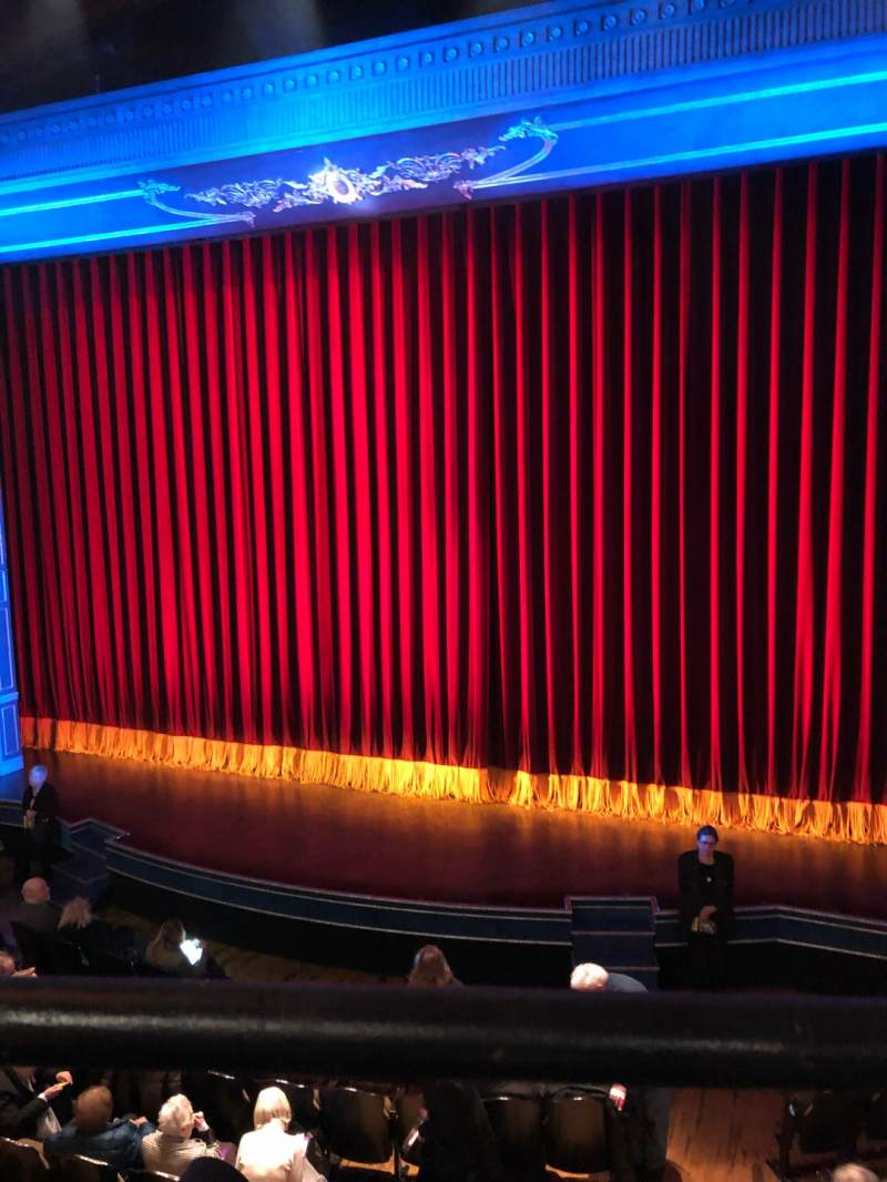 Seating view for Studio 54 Section Mezz Row AA Seat 102