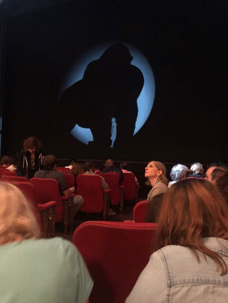 Seating view for Broadway Theatre - 53rd Street Section Orchestra R Row J Seat 3