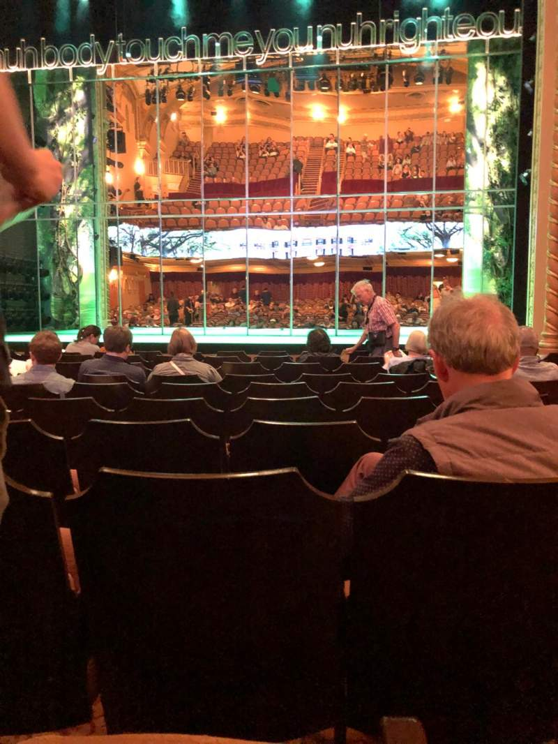Seating view for John Golden Theatre Section Orchestra C Row K Seat 104