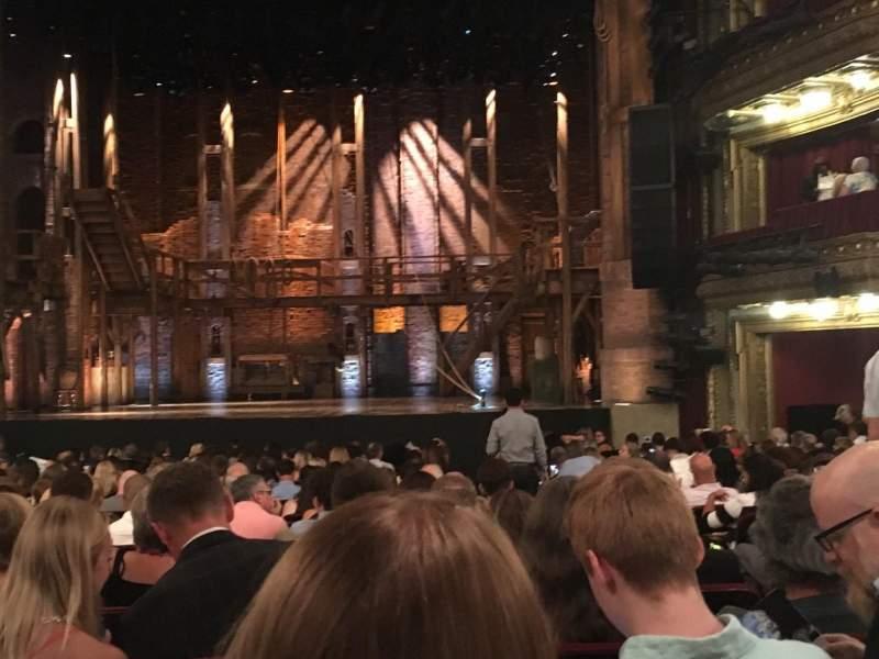 CIBC Theatre, section: Orchestra C, row: V, seat: 115/116