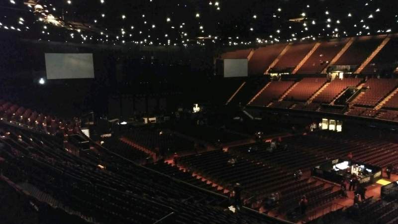 The Forum, section: 231, row: 2, seat: 14