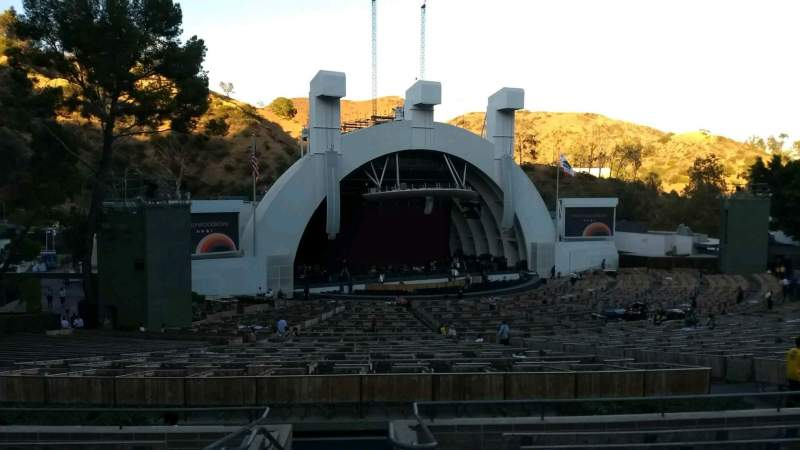 Seating view for Hollywood Bowl Section K1 Row 10 Seat 2