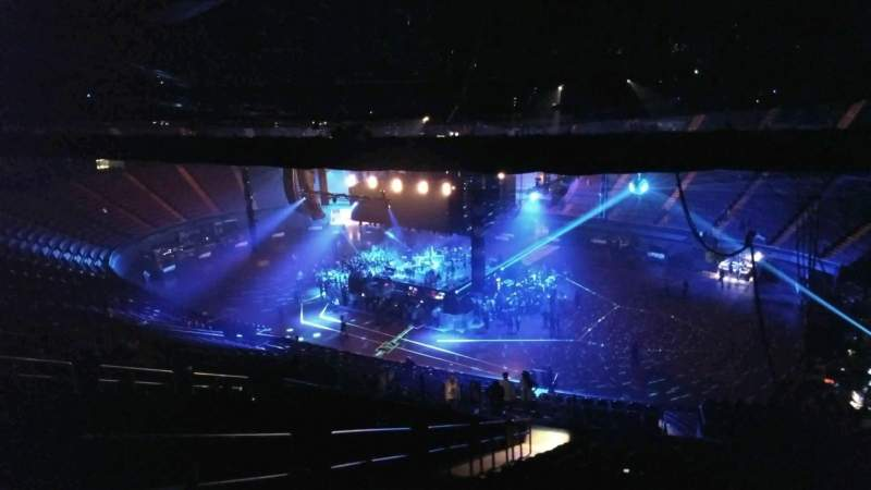 The Forum, section: 213, row: 22, seat: 3