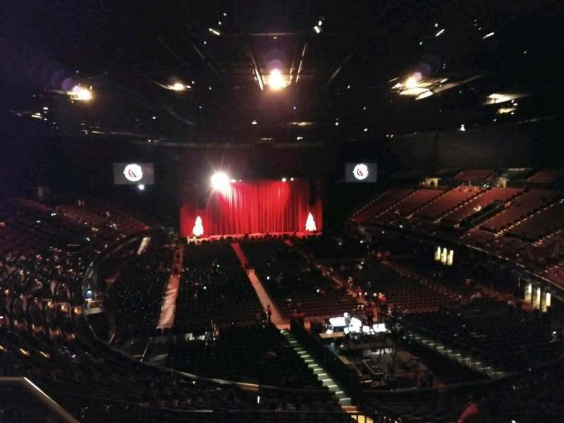 The Forum, section: 235, row: 4, seat: 1