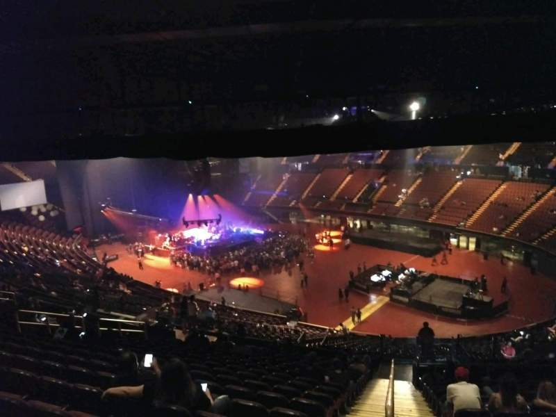 The Forum, section: 232, row: 17, seat: 1