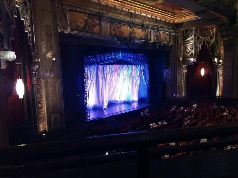 Pantages Theatre (Hollywood), section: mezz left, row: A, seat: 21