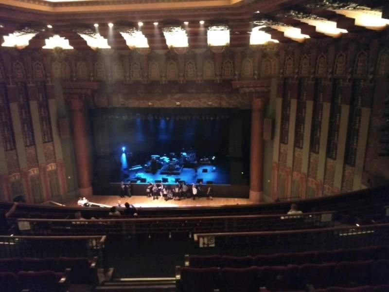 The Wiltern, section: Mezz right, row: F, seat: 102
