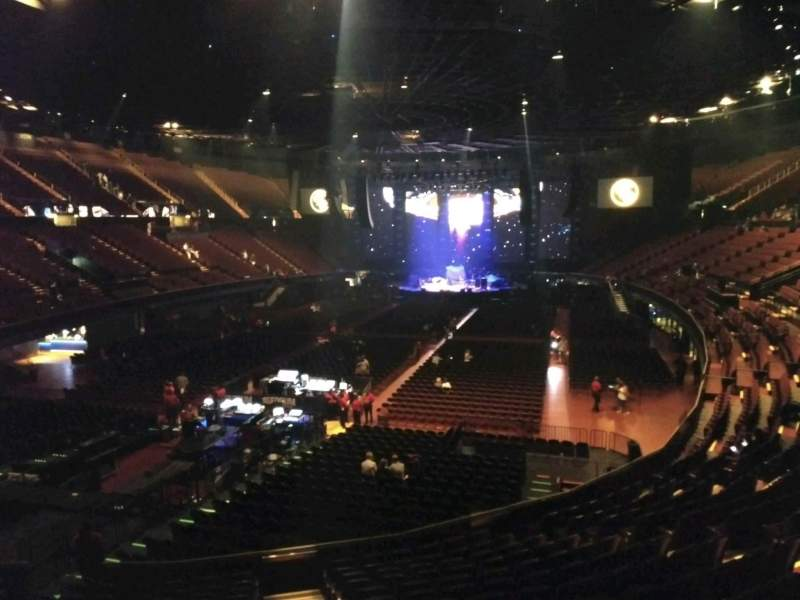 The Forum, section: 102, row: 14, seat: 12