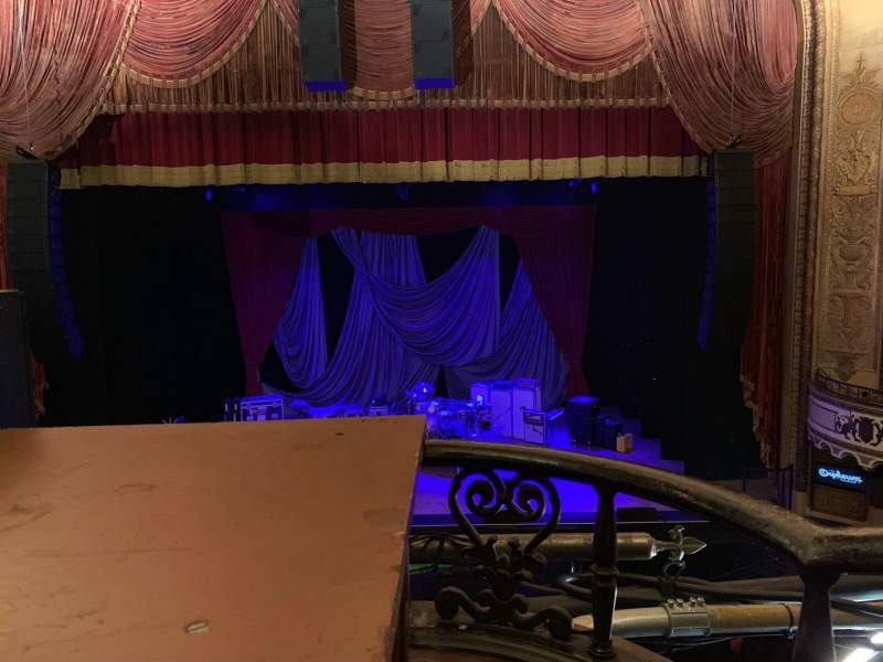Seating view for Orpheum Theatre (Los Angeles) Section Mezz Row A Seat 102