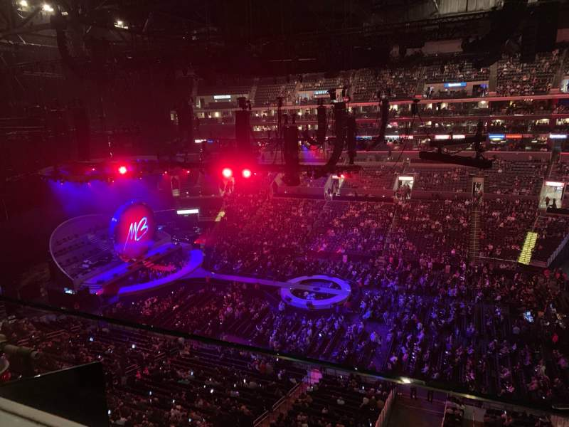 Seating view for Staples Center Section 317 Row 1 Seat 1