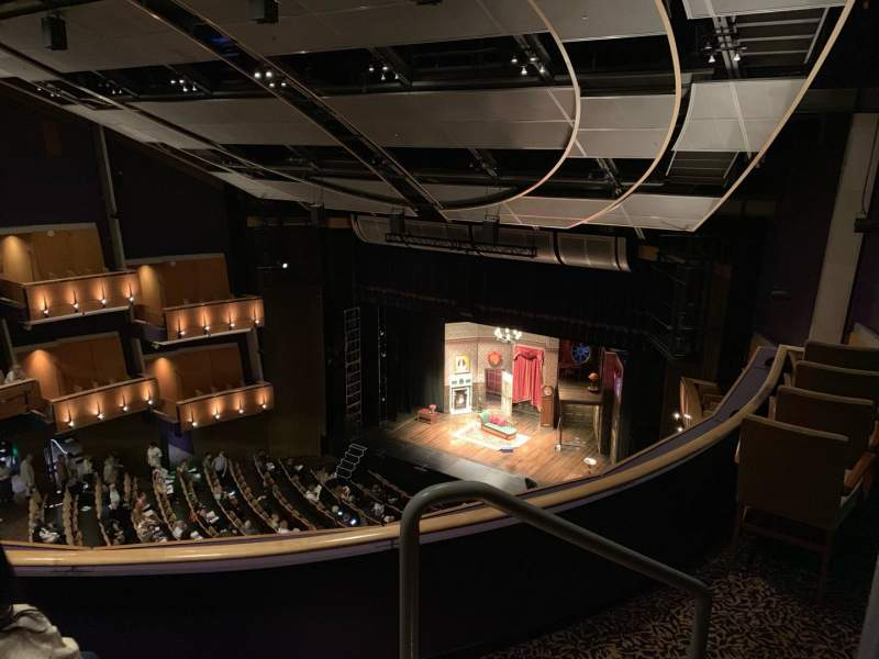 Seating view for Ahmanson Theatre Section Balcony  Row C Seat 1