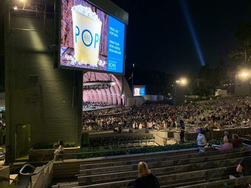 Seating view for Hollywood Bowl Section K3 Row 9 Seat 37