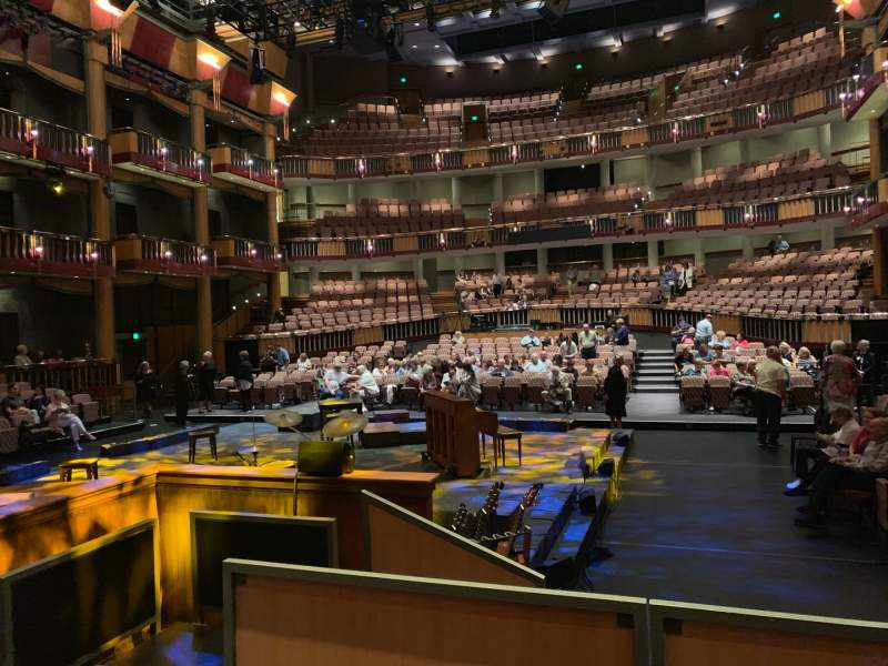 Seating view for Cerritos Center For The Performing Arts Section Orchestra Row RC Seat 5