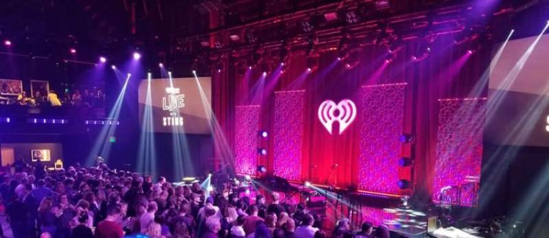 Seating view for IHeartRadio Theater Section GA Balcony
