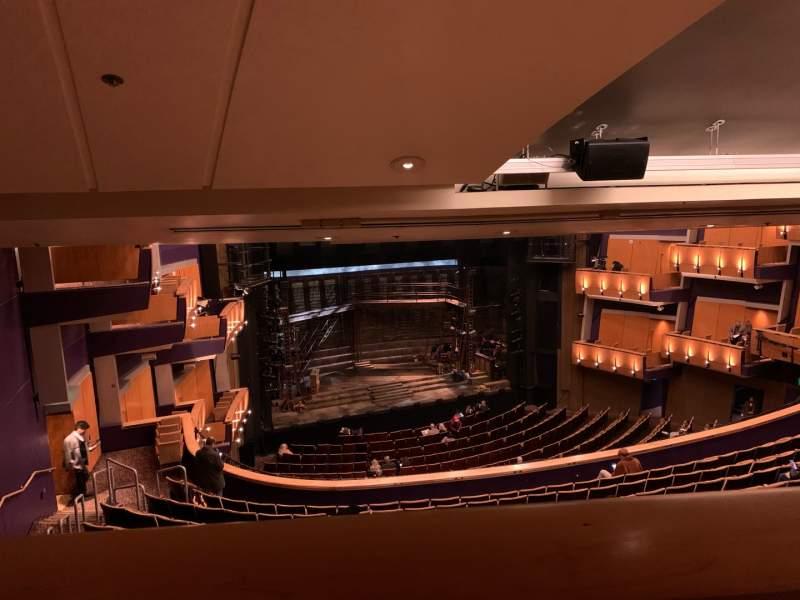 Seating view for Ahmanson Theatre Section Mezzanine Row BXM ADA Seat 36