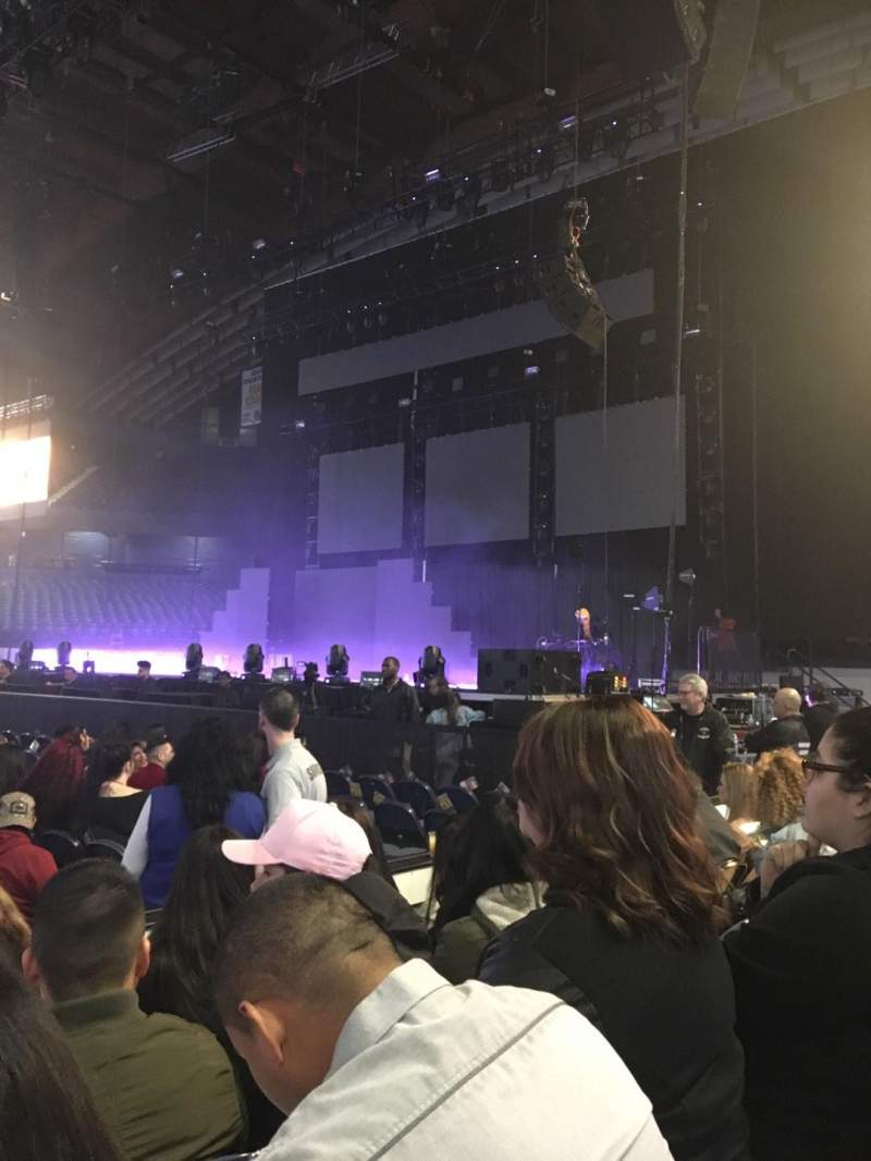 Seating view for Allstate Arena Section 110 Row DD Seat 12