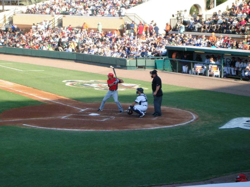 Seating view for Joker Marchant Stadium Section 210 Row G Seat 12