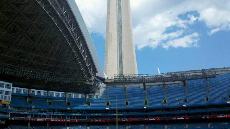 Seating view for Rogers Centre Section 130A Row 24 Seat 7