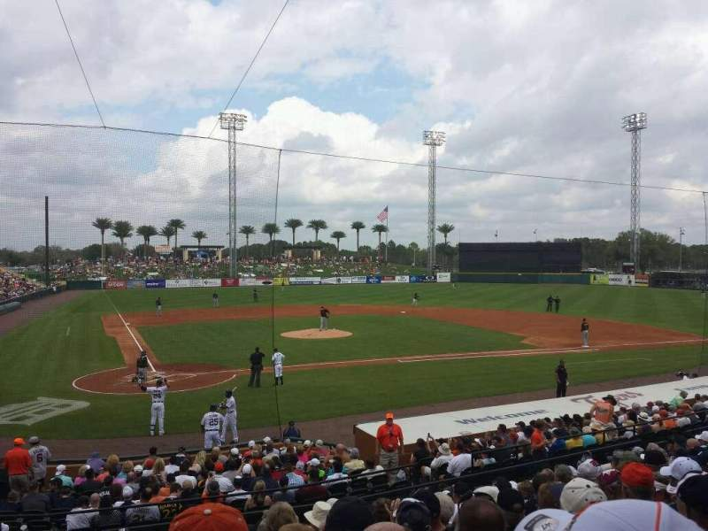 Seating view for Joker Marchant Stadium Section 204 Row L Seat 23