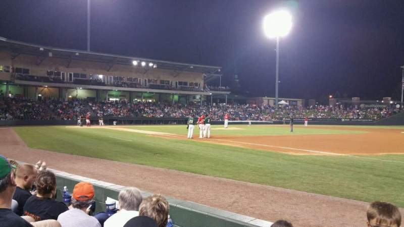 Seating view for Fluor Field Section 115 Row C Seat 5