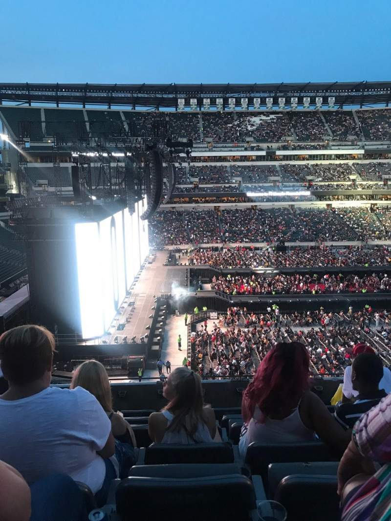 Lincoln Financial Field, section: C38, row: 12, seat: 3