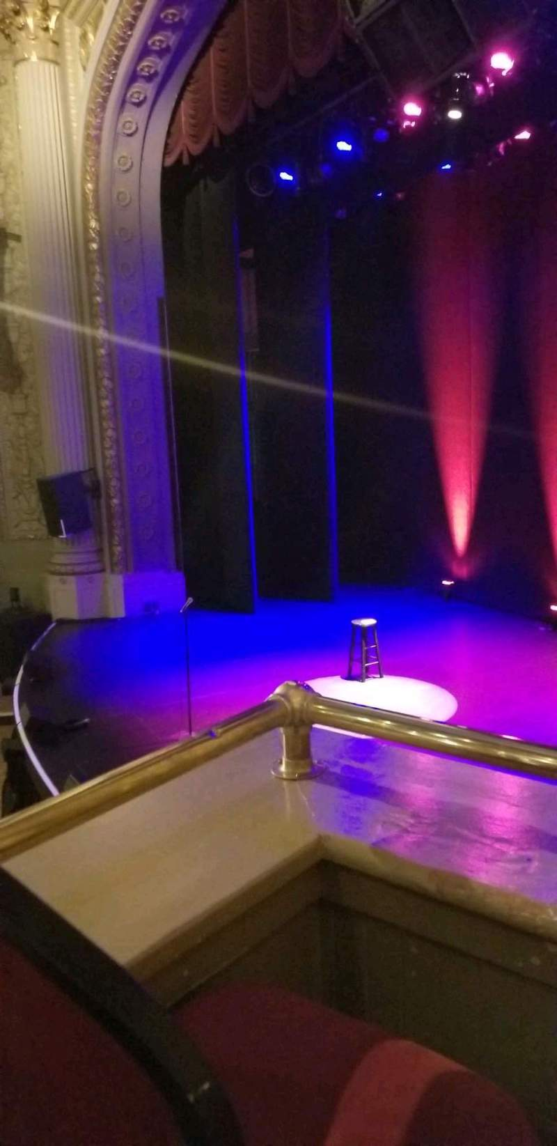 Seating view for Majestic Theatre - Dallas Section Loge Row B Seat 2