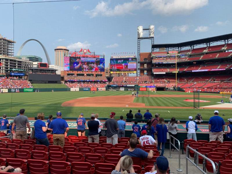 Seating view for Busch Stadium Section 156 Row 5 Seat 3