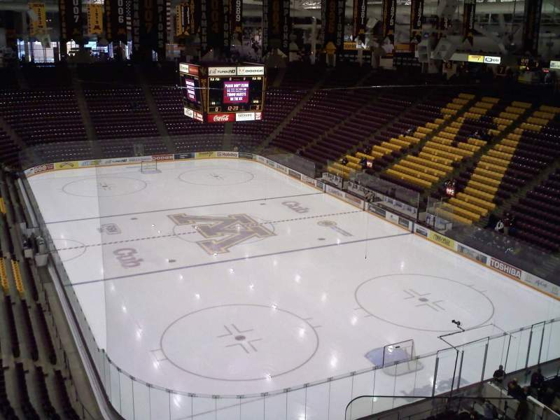 Seating view for Mariucci Arena